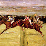Max Liebermann - Horse races