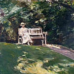 Georg Schrimpf - The Garden Bench