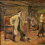 Max Liebermann - Die Heimkehr des Tobias; The Return of Tobias 1934