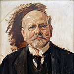 Max Liebermann - Portrait of Emil Rathenau