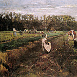 Max Liebermann - Potato gatherers