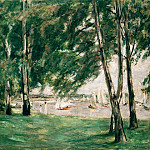 Max Liebermann - Lake Wannsee in Berlin in Sunlight