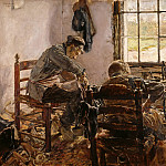 Max Liebermann - Cobblers Workshop