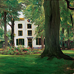 Lovis Corinth - Country house in Hilversum