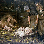 Max Liebermann - Pigsties