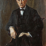 Lovis Corinth - Portrait Richard Strauss