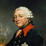 Friedrich Georg Weitsch - Frederick the Great