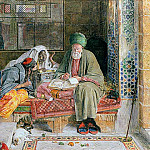 John Frederick Lewis - The Arab Scribe, Cairo