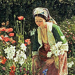 John Frederick Lewis - In the Beys Garden