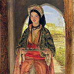 John Frederick Lewis - The Coffee Bearer