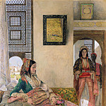 John Frederick Lewis - Life in the harem - Cairo