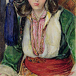 John Frederick Lewis - A Turkish Girl