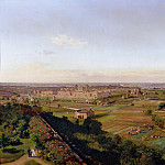 Panorama. Look at the Baths of Caracalla
