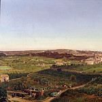 Adolph von Menzel - Panorama. View of St. Peter