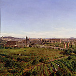 Alte und Neue Nationalgalerie (Berlin) - Panorama. View of St. Maria Maggiore and the Colosseum