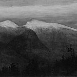 Homer Dodge Martin - The White Mountains From Randolph Hill
