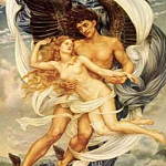 Boreas or Eithyia, Evelyn De Morgan