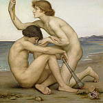 Evelyn De Morgan - Phosphorus and Hesperus