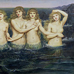 The Sea Maidens, Evelyn De Morgan