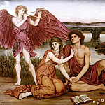 Evelyn De Morgan - Love's Passing