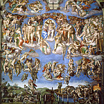 Michelangelo Buonarroti - Last Judgement (after restoration 1990-94)
