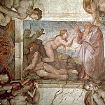 Michelangelo Buonarroti - The Creation of Eve
