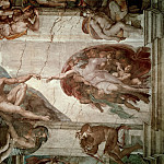 Michelangelo Buonarroti - Creation of Adam