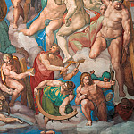 Raffaello Sanzio da Urbino) Raphael (Raffaello Santi - Last Judgement (fragment, after restoration 1990-94)