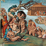 Michelangelo Buonarroti - The Flood