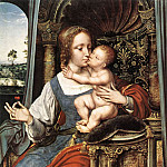 Quentin Massys - Virgin and Child