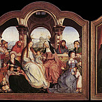 Quentin Massys - St Anne Altarpiece
