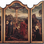 Quentin Massys - Christ on the Cross with Donors