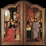 Quentin Massys - St Anne Altarpiece closed