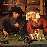 Quentin Massys - The Money Lender And His Wife