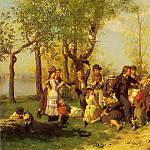 Johan August Malmström - Malmstrom_August_Children_At_Play