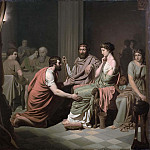 Johan August Malmström - Odysseus before Alcinous, King of the Phaeacians