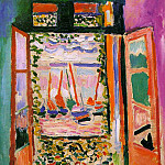 Henri Matisse - Open Window, Collioure, 1905, oil on canvas, private