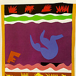 Henri Matisse - Jazz- The Toboggan, 1943, paper cut-outs