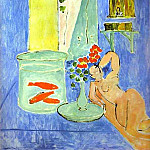 Henri Matisse - Red Fish and a Sculpture