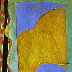 Henri Matisse - Yellow Curtain