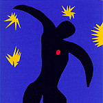 Henri Matisse - Icarus (Icare), 1943-1944, From Jazz