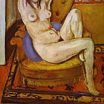 Henri Matisse - Nude on a Blue Cushion