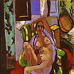 Henri Matisse - Nude Sitting in an Armchair