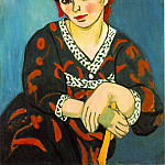 Henri Matisse - The Red Madras Headress (Mme Matisse - Madras Rouge)