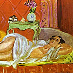 Henri Matisse - Odalisque, Harmony in Red