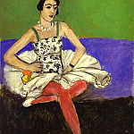 Henri Matisse - The Ballet Dancer. La danseuse