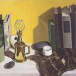 Linda Mann - Lamp and Books