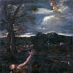 Niccolo (Niccolo da Foligno) Alunno - Saint Jerome in the Countryside (Attr)