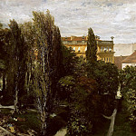 Theodore Gudin - Palace garden of Prince Albrecht