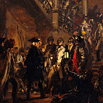 Adolph von Menzel - Frederick II after the Success of the Battle near Leuthen (December 5, 1757)